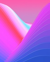 Colorful Neon Waves