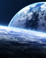 Earth Horizon Spacescape