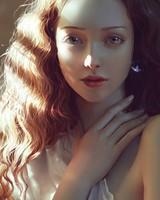 Beautiful woman Digital art
