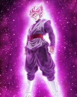 Super Saiyan Rosé Black Goku Dragon Ball Super