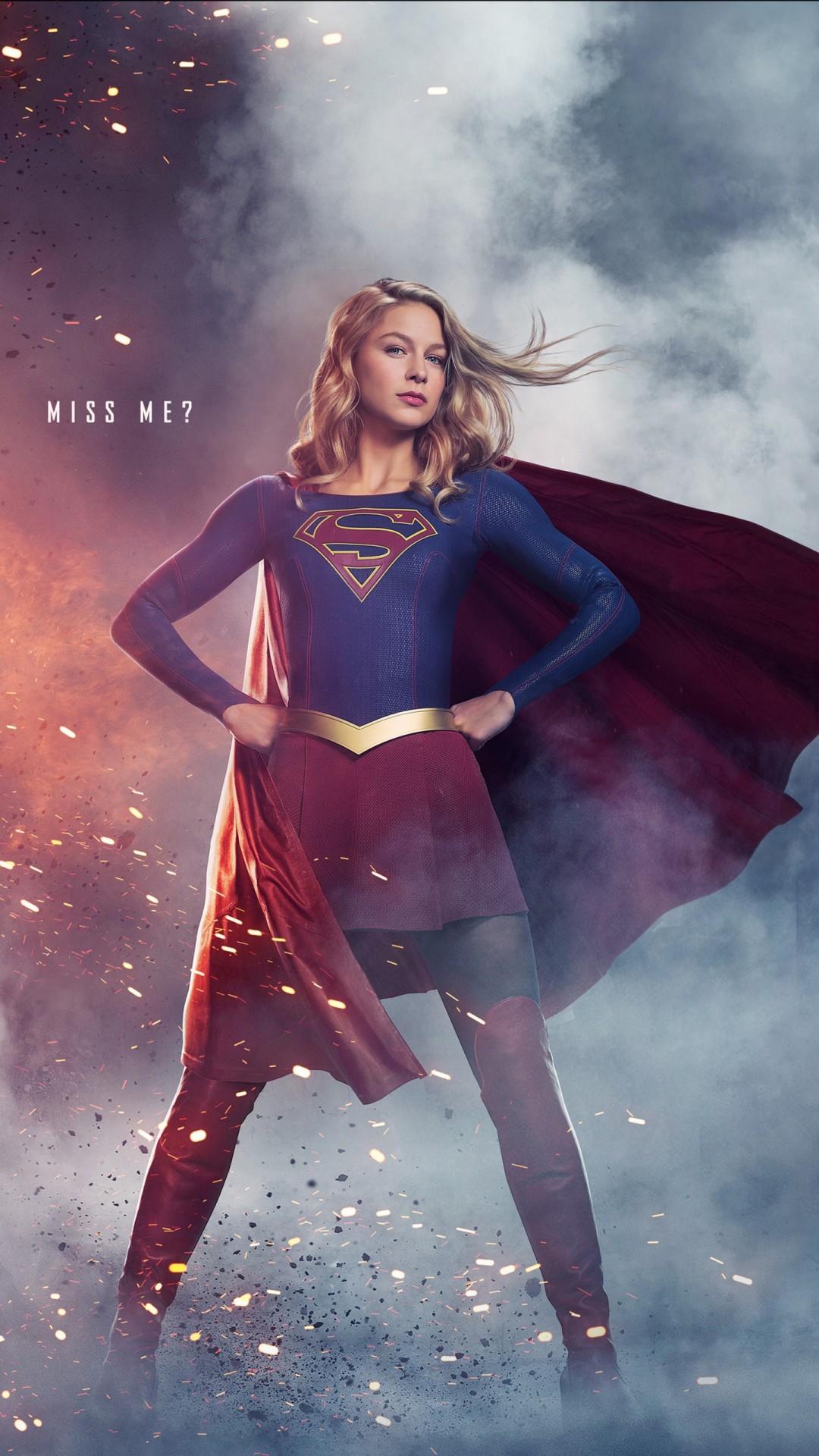 Free Supergirl Season 3 phone wallpaper by 80smusicbaby