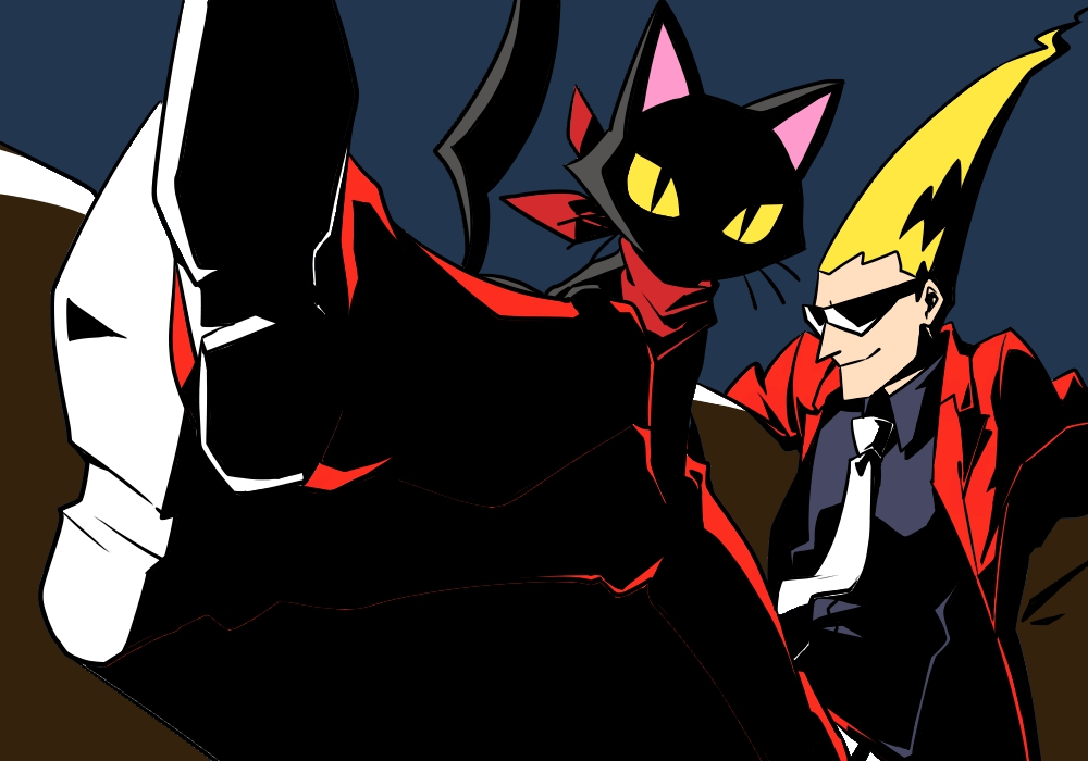 Free cat and sissel ghost trick phone wallpaper by ash_ketchump
