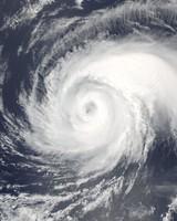 Typhoon Noru absorbing the Tropical Storm Kulap