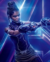 Shuri in Avengers Infinity War Letitia Wright
