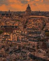 Paris Panorama Sunset