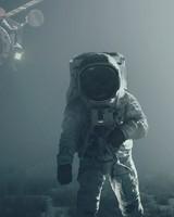Astronaut Satellite