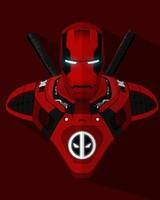 Iron Man Deadpool Crossover