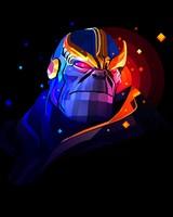 Thanos Minimal Artwork