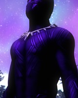 Black Panther Purple Suit
