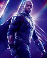 Anthony Mackie as Falcon in Avengers Infinity War