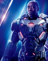 Don Cheadle as War Machine in Avengers Infinity War