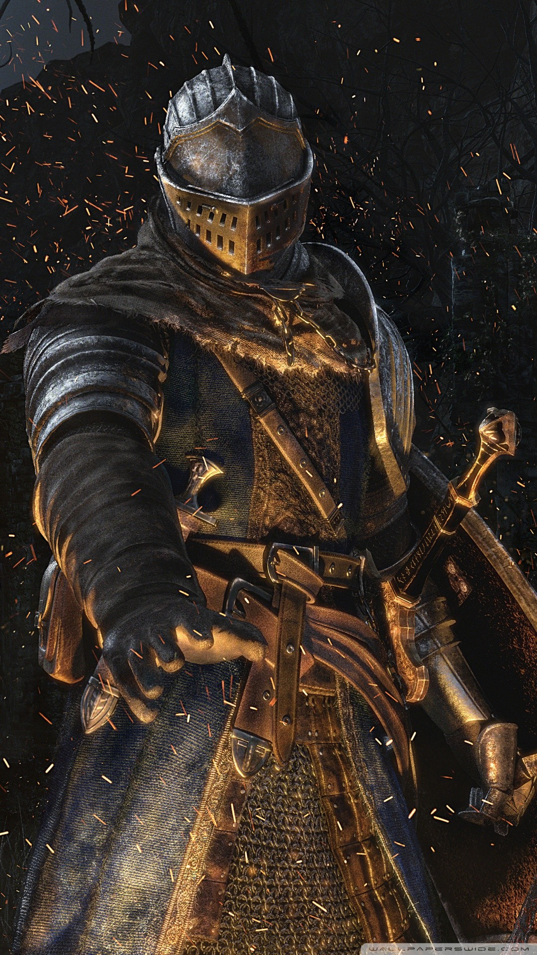 Free Dark Souls Remastered Knight phone wallpaper by specialkay2112