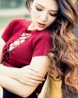 Asian Girl, Pier