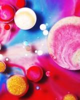 Colorful Paint Mix Bubbles