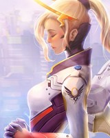 Mercy Overwatch Artwork