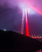 Yavuz Sultan Selim Bridge Istanbul Turkey