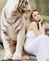 White Tiger & Model