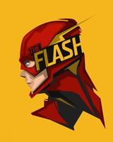 The Flash Minimal Artwork