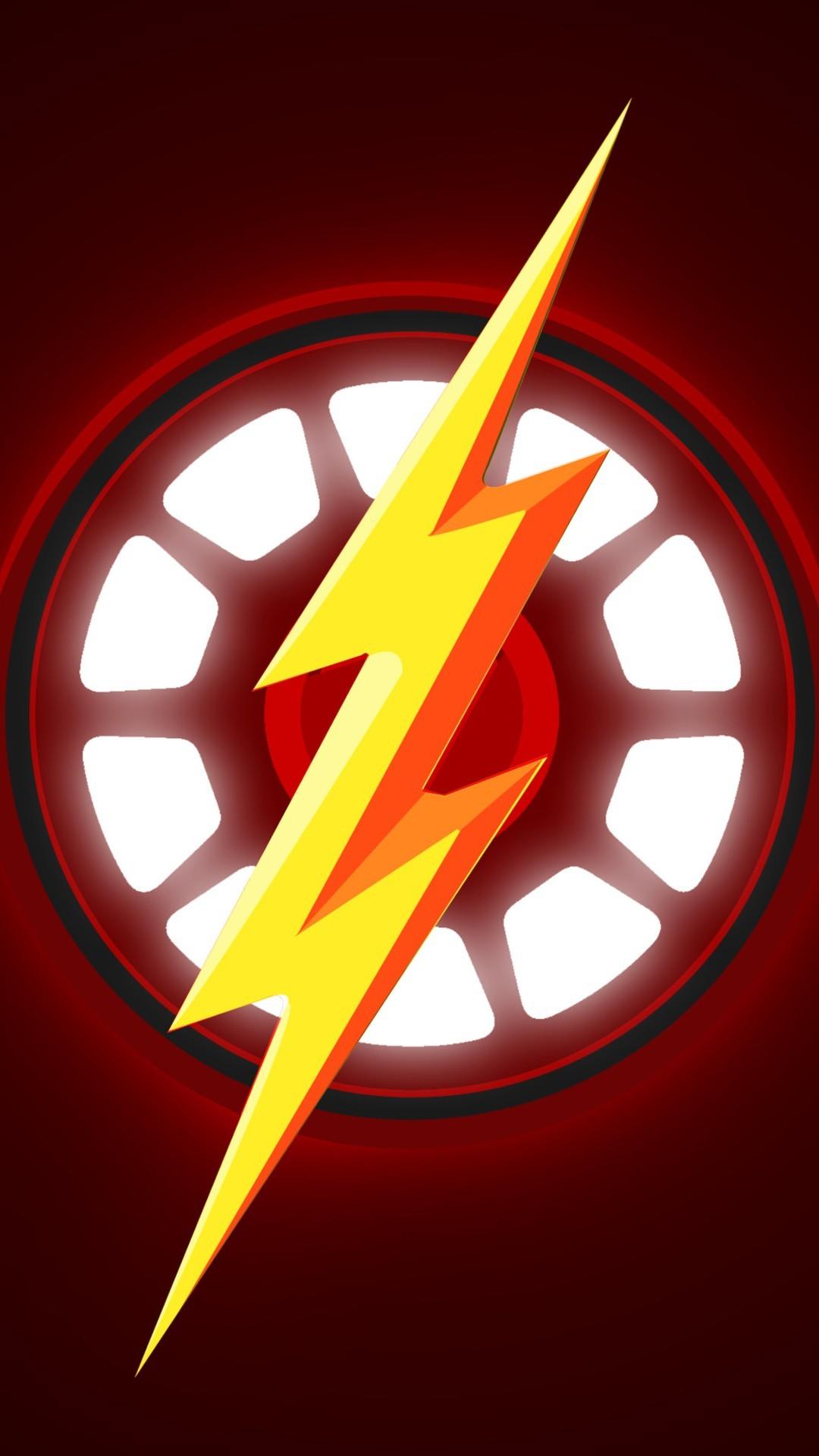 Free Iron Man The Flash phone wallpaper by kimberlyrae619