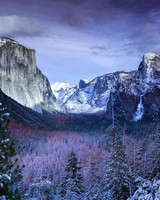 Winter at Yosemite Valley wallpaper 1