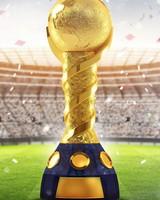 2018 FIFA World Cup Russia Golden Trophy wallpaper 1
