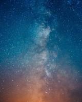 Starry Milky Way Sky