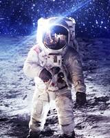 NASA Astronaut on Moon
