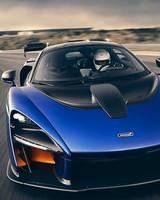 McLaren Senna Kyanos Blue