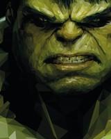 Hulk Low-poly