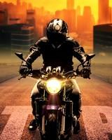 Biker, bike, motorcycle, motorcyclist