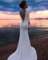 Bride, Beach Wedding