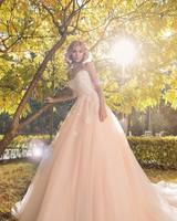 Bride, Wedding, Sunny Autumn Day