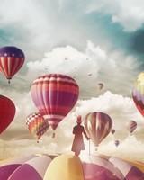 Hot air balloons Magician