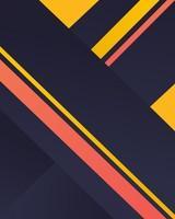 Yellow Stripes Material Design wallpaper 1