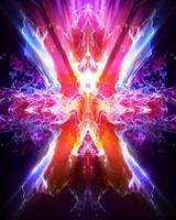 Neon Energy Waves