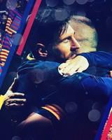 Lionel Messi Andres Iniesta FC Barcelona