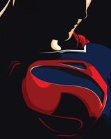 Superman Minimal Artwork