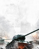 T-34 Russian WWII Tank Action Movie