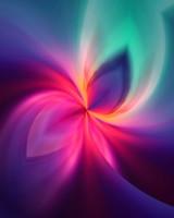 Fractal glow wallpaper 1