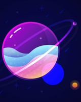 Saturn Solar System
