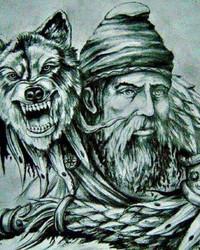 Decebal Dacian Wolf