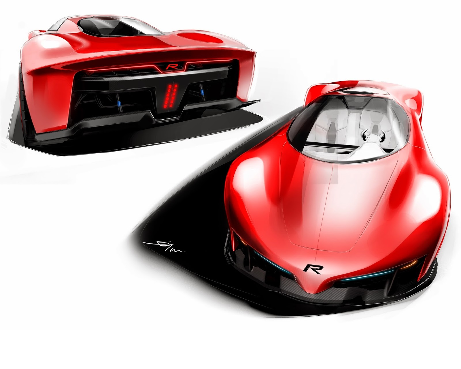 Free Rivaz Concept Car phone wallpaper by zombozo