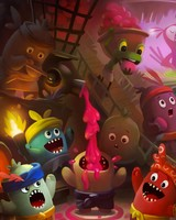Cute Little Monsters Illustration