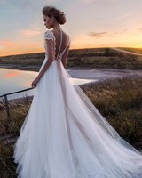 Gorgeous Bride in a Beautiful Dress, Evening