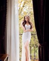 Beautiful Woman in a Glamorous Dress
