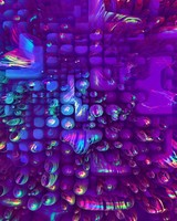 Neon Bubbles Wallpaper
