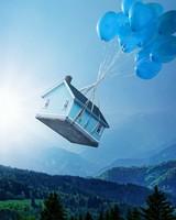 Flying house Landscape Dream