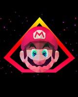 Super Mario Low poly Artwork
