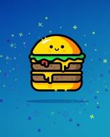 Double Cheeseburger Blue