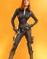 Scarlett Johansson as Black Widow in Avengers Infinity War